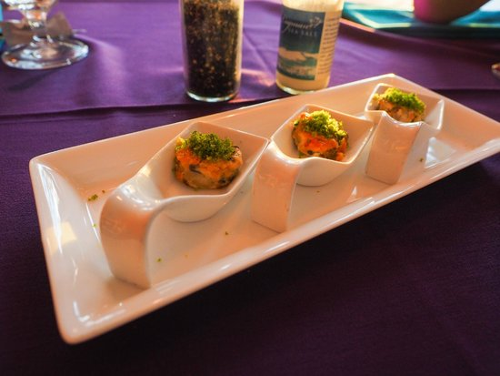 The Rum Point Club Restaurant : amuse bouche