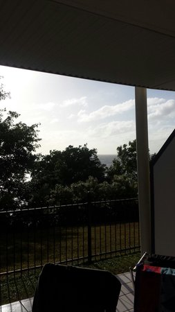 Amaroo at Trinity: More filtred seaview from our terrace