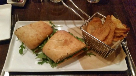 Boca Bistro: Vegetable sandwich... delicious