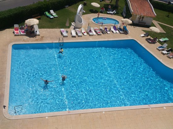 Silchoro Apartments: The Pool from our Balcony