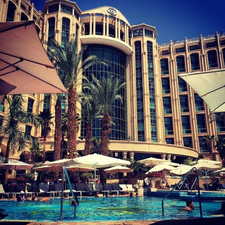 Queen of Sheba Eilat: Vu piscine