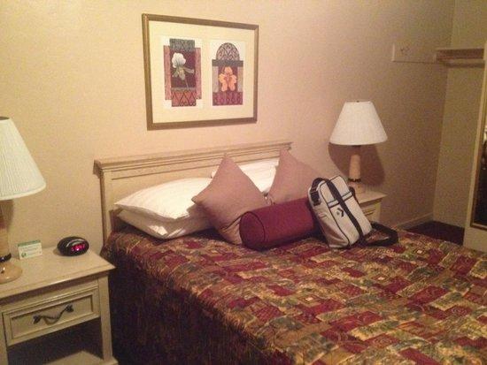 El Camino Inn: Camera pulita, letto comodo