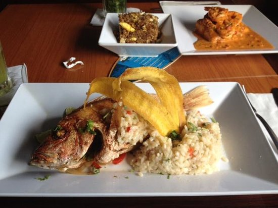 Bagua Restaurant: Red Snapper