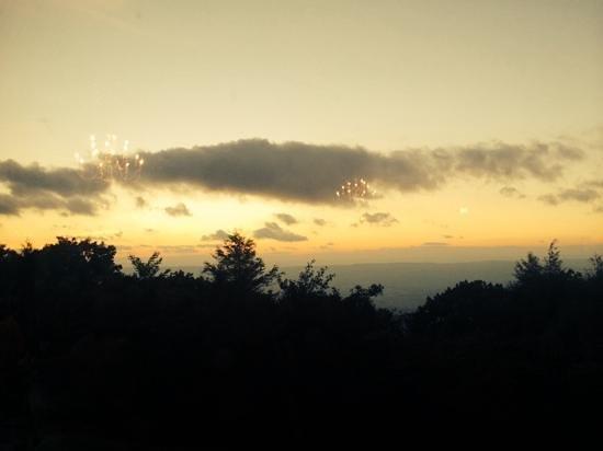 Sunset from Skyland Dinning Room