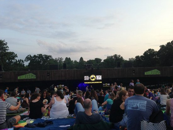Merriweather Post Pavilion : View from Lawn