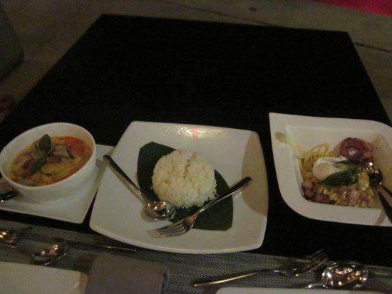 Zazada Beach Club: dinner