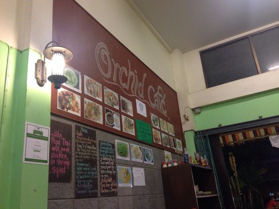 Orchid Cafe: indoor