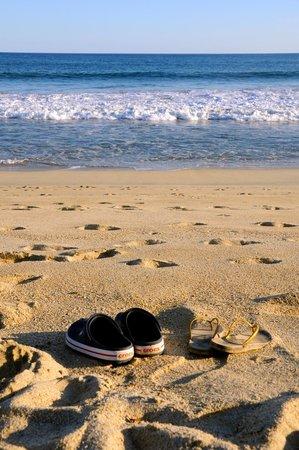 Holiday Inn Resort Los Cabos All-Inclusive: Praia em Frente ao Hotel.