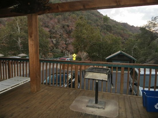 Three Rivers, CA: View from the front door of Alta