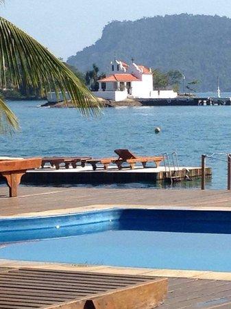 Flutuante da pousada Jamanta !! Uma delícia para relaxar!!