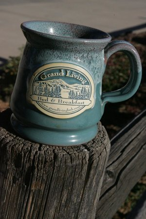 Grand Living Bed & Breakfast: Great cup of coffee