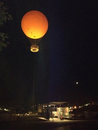 Orange County Great Park : Great Park Balloon ride at night