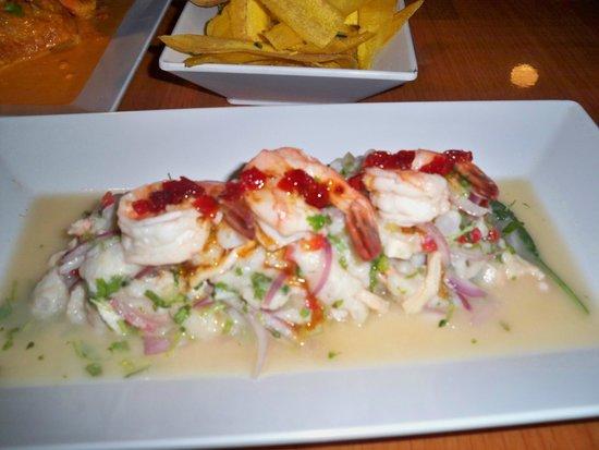Bagua Restaurant: Ceviche Trio