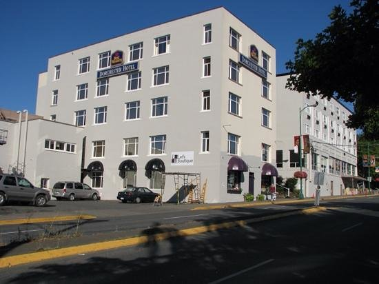 BEST WESTERN  Dorchester Hotel: outside view