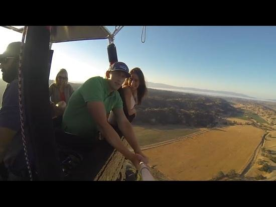 Sky's the Limit Ballooning Adventures: Santa Ynez valley