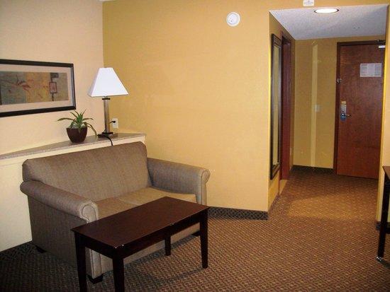 Comfort Suites Gettysburg: Sitting area