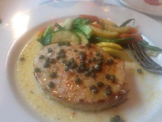 Parkside Restaurant: Swordfish