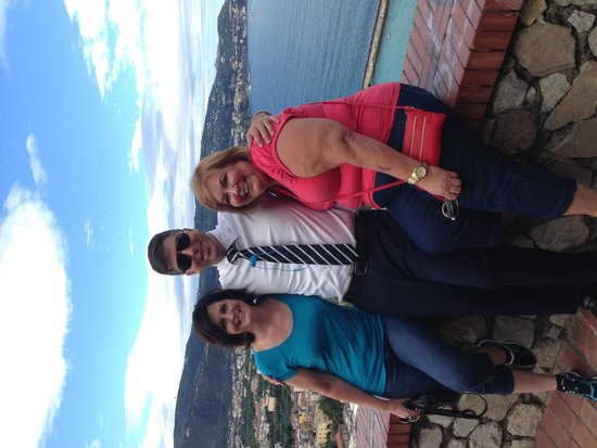 Tours of Amalfi Coast: Us With Our Tour Guide Erin