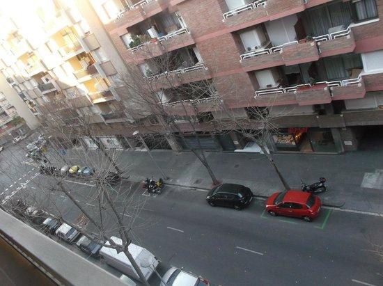Aparthotel Napols: Napols street