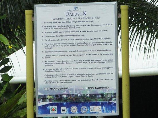 Daluyon Beach and Mountain Resort: ..