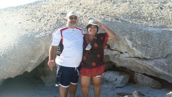 Hotel Brisas del Mar: montaña de nacar