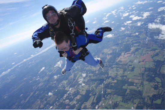 Skydive the Ranch: The scream heard round the world!