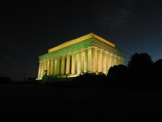 Bike and Roll DC: lincoln memorial