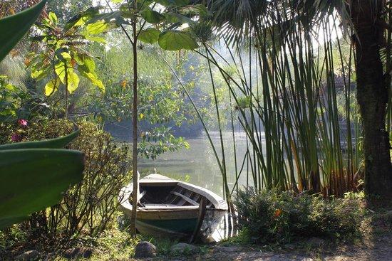 Sapu Lidi Resort: Pemandangan saat sarapan di teras