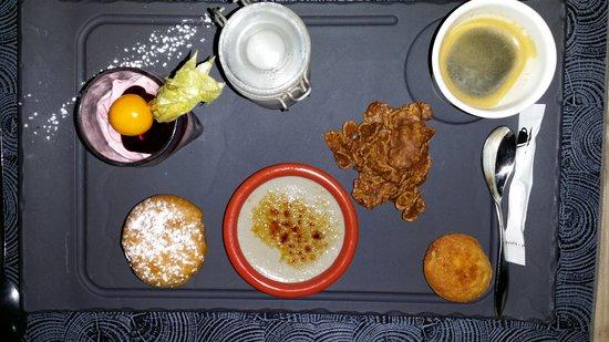 La Terrasse: Café gourmand... à recommander