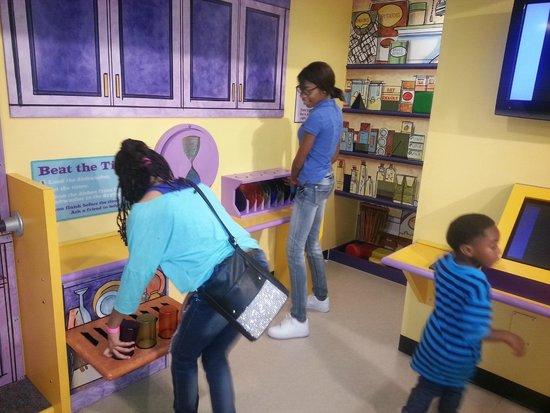 Mississippi Children's Museum: housekeeping zone