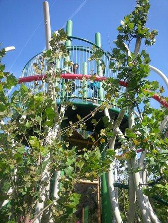 Mississippi Children's Museum: outdoor garden