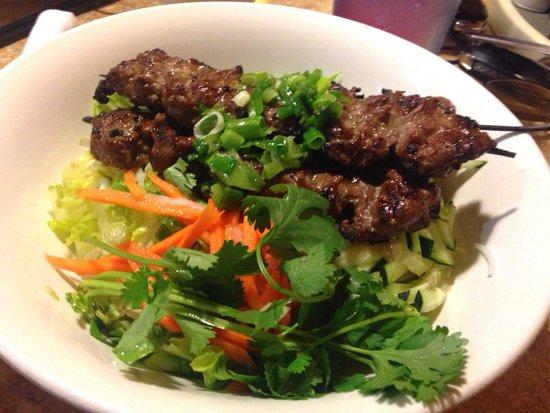 Pho 79 Vietnamese Restaurant: Bùn Bó Nuong enjoyed.