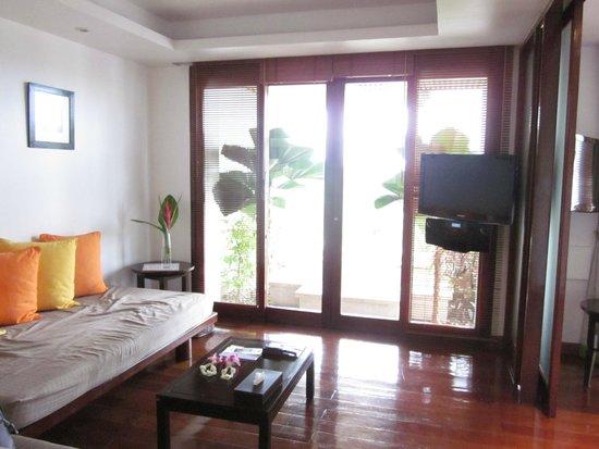 Ayara Hilltops Resort and Spa : Living room area