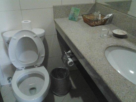 Citi Park Hotel: bathroom view