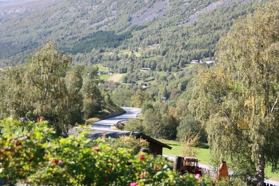 Lommedalen, Norwegen: View of the road