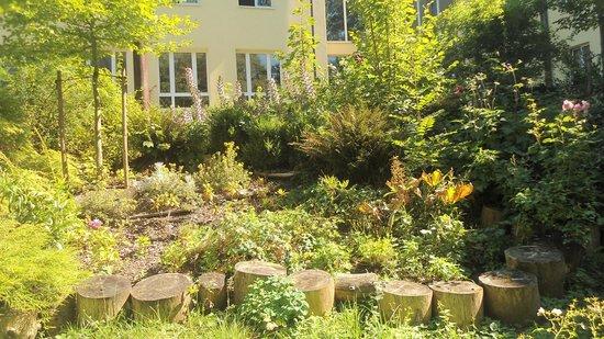 Muffin Hostel: Jardín