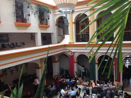 Hotel Ciudad Real Centro Historico: Hotel Ciudad Real, interior. Restaurante principal.
