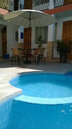 Hotel Las Flores : tranquilidad