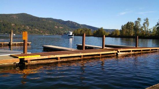 Lake Pend Oreille Cruises : Shawnodese Coming to Take Us Away