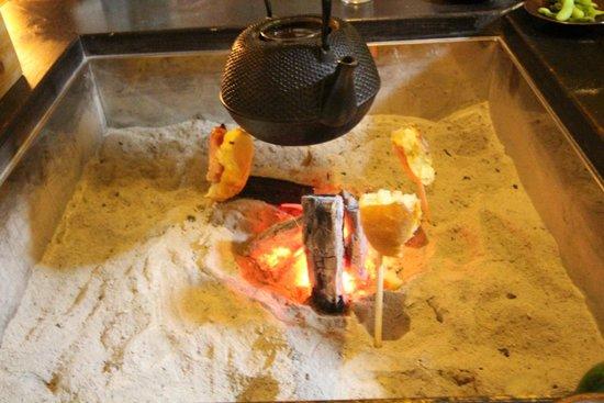 Sankoso : お部屋の炉端