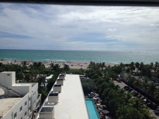 SLS South Beach: the view from my room
