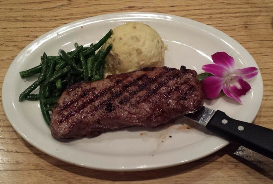The Other Side: New York Strip Steak