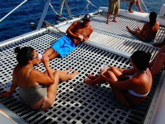 Simpson Bay, Saint-Martin / Sint Maarten: Soaking up some vitamin D