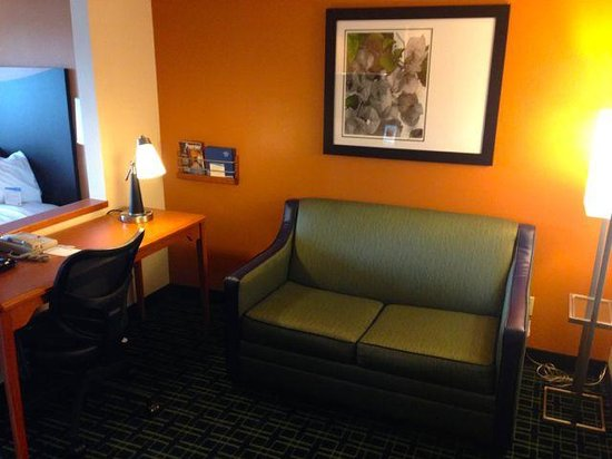 Fairfield Inn & Suites Billings : Put your feet up time