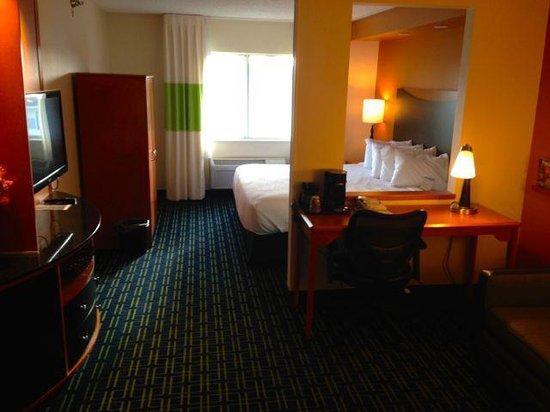 Fairfield Inn & Suites Billings : The Room