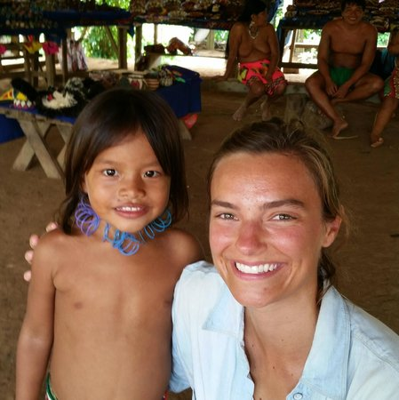 Emberá Village Tours & More: a new young friend