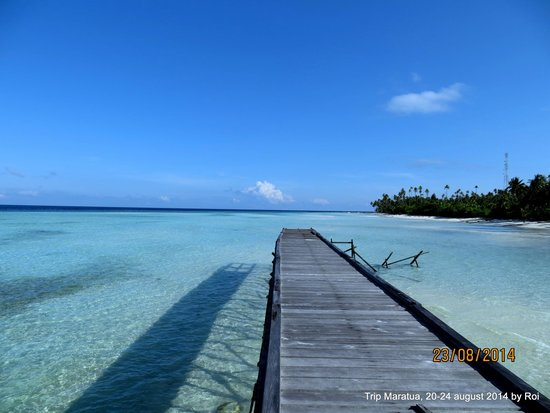 Derawan Islands, Indonesia: Dermaga d Kakaban