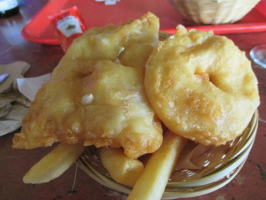 Cicerello's: Our seniors fish & chips