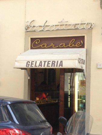 Gelateria Carabe: 外観