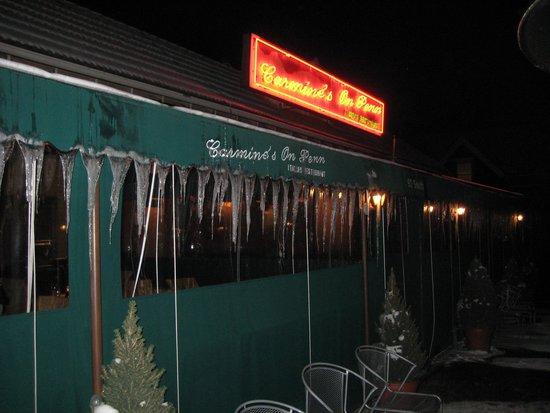 Carmine's on Penn: Winter view at Carmine's